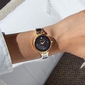 Anne Klein Women's Diamond Bangle Watch